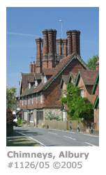 Albury Estate houses chimneys