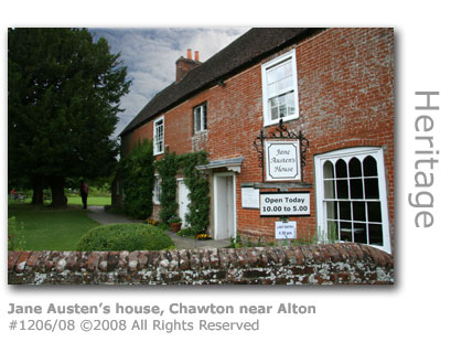 Jane Austen's house, Chawton near Alton, Hampshire