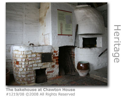 The bakehouse at Jane Austen's house in Chawton near Alton, Hampshire
