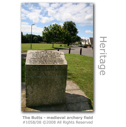 The Butts, medieval archery field in Alton, Hampshire