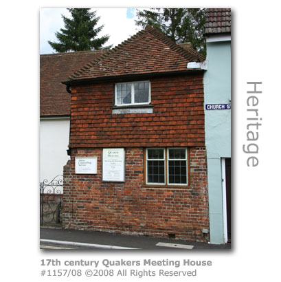 17th century Quakers Meeting House, Alton, Hampshire