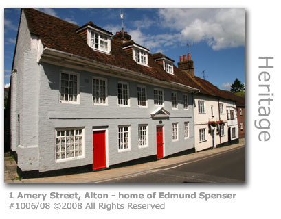 Edmund Spenser's house in Alton, Hampshire