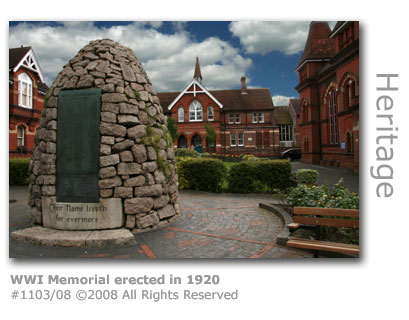 First World War Memorial, High Street, Alton, Hampshire