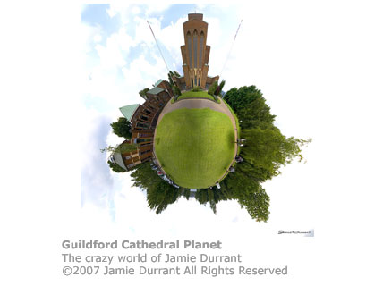 Cathedral Planet by Jamie Durrant