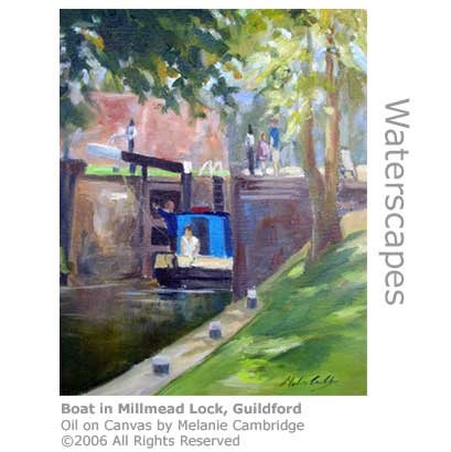 Millmead Lock by Melanie Cambridge