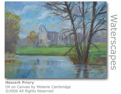 Newark Priory by Melanie Cambridge