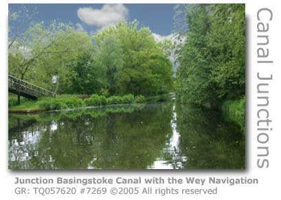JUNCTION WITH BASINGSTOKE CANAL