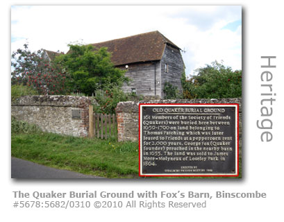 The Quaker's Burial Ground, Binscombe, Farncombe, Surrey