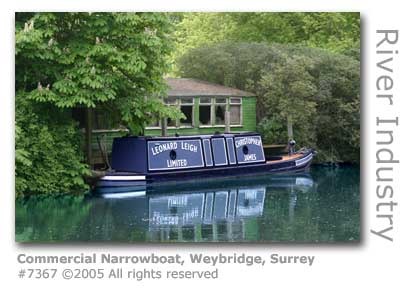 COMMERCIAL NARROWBOAT WEYBRIDGE