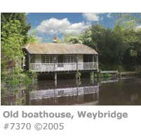 OLD BOATHOUSE WEYBRIDGE