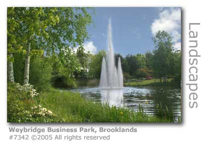 WEYBRIDGE BUSINESS PARK FOUNTAIN BROOKLANDS