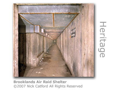 Brooklands Air Raid Shelter by Nick Catford