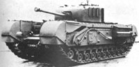 World War II Churchill tank