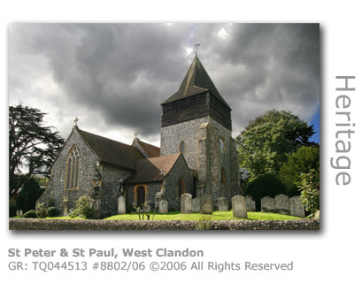 St Peter & St Paul, West Clandon