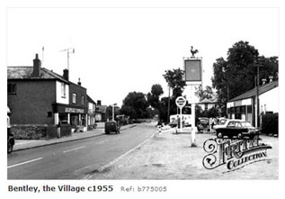 Bentley Village near Alton 1955