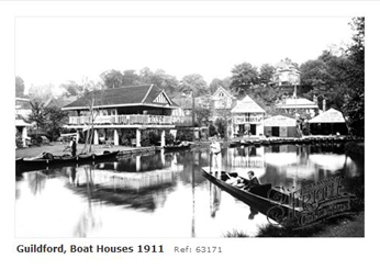Boathouse at Guildford 1934