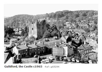 Guildford Castle 1965