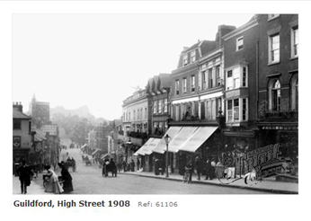 Guildford High Street 1908