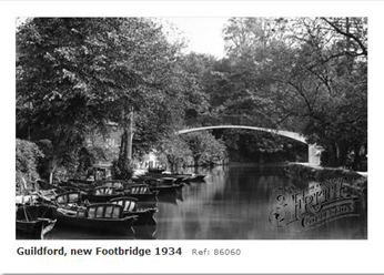 Millbrook new footbridge 1934