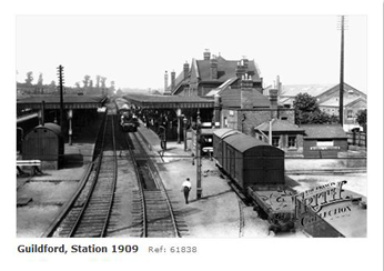 Guildford Station 1909