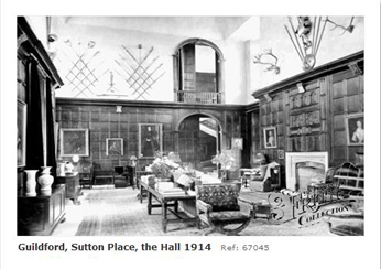 Sutton Place, Guildford 1914