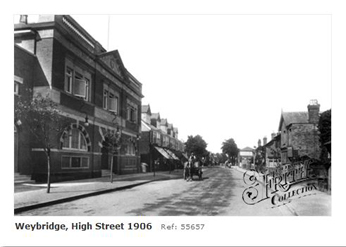 Weybridge High Street 1906