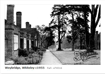 Whiteley Village, weybridge 1955