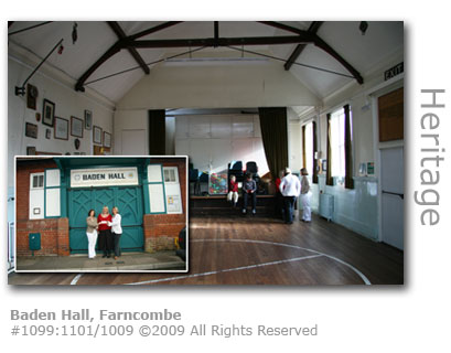 Baden Hall in Farncombe