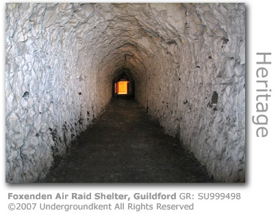 Foxenden Air Raid Shelter, Guildford