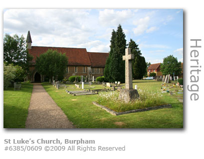St Luke's Church, Burpham, Guildford