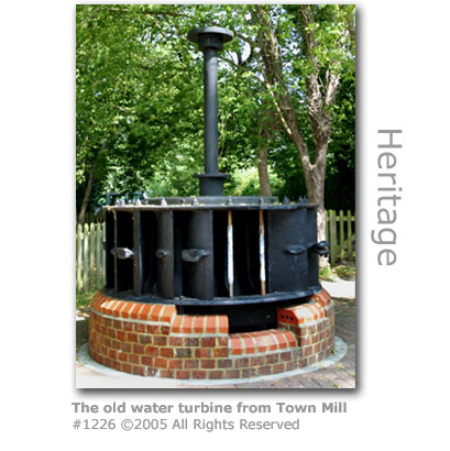 Town Mill water turbine