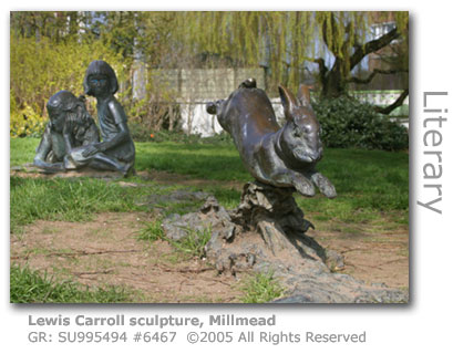 Lewis Carroll Sculpture