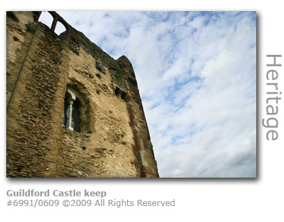 Guildford Castle keep, Surrey