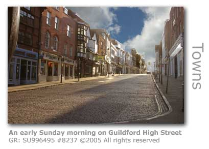 EARLY SUN GUILDFORD HIGH STREET