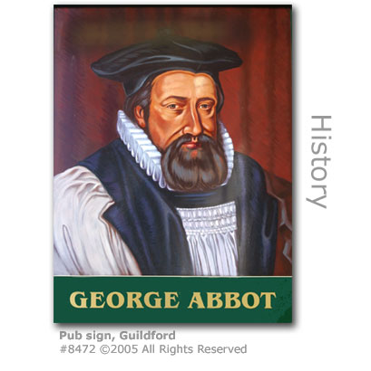 George Abbot pub sign