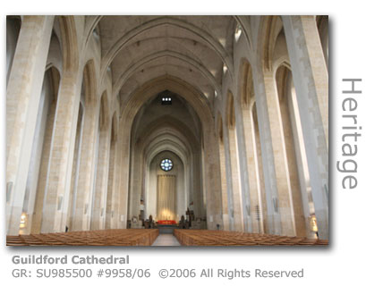 Guildford Cathedral Nave