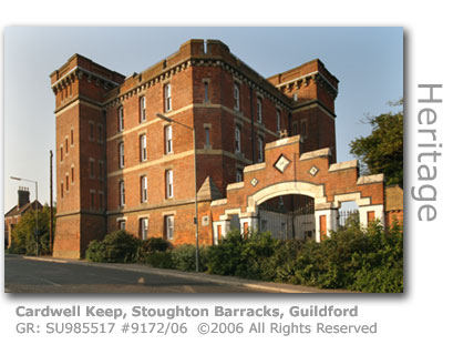 Cardwell Keep, Stoughton Barracks