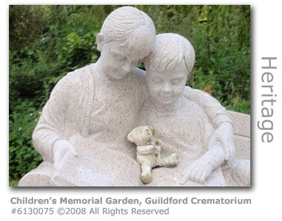 Children's Memorial gardens, Guildford Crematorium