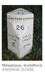 Guildford milestone
