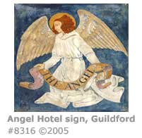 Angel Hotel sign