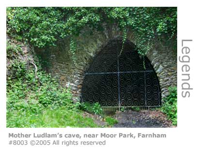 MOTHER LUDLAM'S CAVE FARNHAM