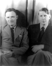 Christopher Isherwood and WH Auden