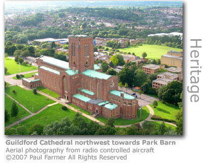 Guildford Cathedral by Paul Farmer