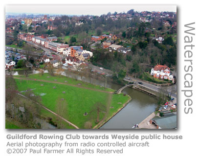 Guildford Rowing Club by Paul Farmer