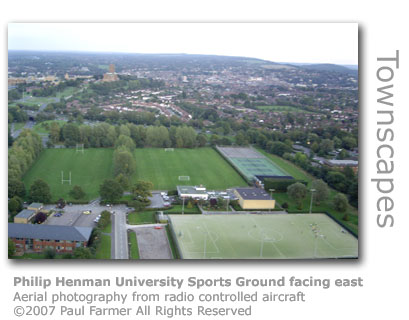 Unis Sports Field by Paul Farmer