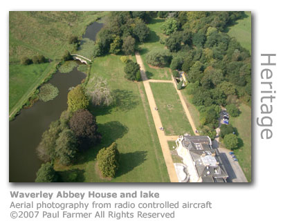 Waverley Abbey House by Paul Farmer