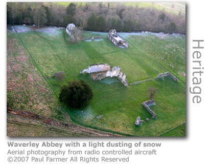 Waverley Abbey  by Paul Farmer