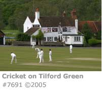 CRICKET TILFORD GREEN
