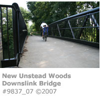 Unstead Woods Downslink Bridge