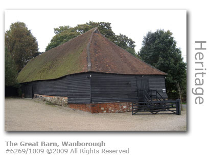 Wanborough Great Ban near Guildford